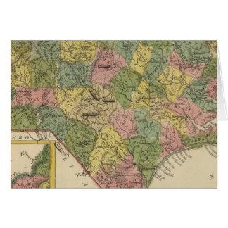 Carolina del Norte 10 Tarjeta De Felicitación