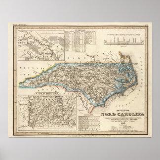 Carolina del Norte 2 Impresiones