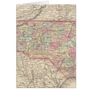 Carolina del Norte 3 Tarjeta De Felicitación