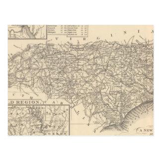 Carolina del Norte 6 Tarjetas Postales