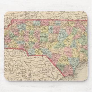 Carolina del Norte 8 Tapete De Ratones