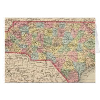 Carolina del Norte 8 Tarjeta De Felicitación