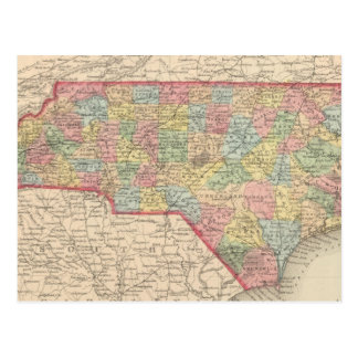 Carolina del Norte 8 Tarjetas Postales