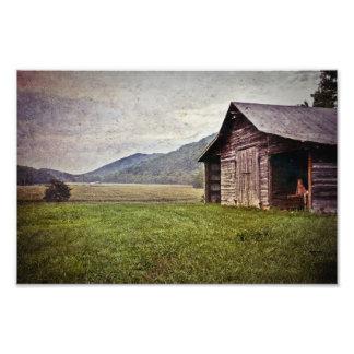 Carolina del Norte americana rural Impresiones Fotograficas