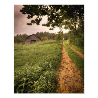 Carolina del Norte americana rural Impresion Fotografica