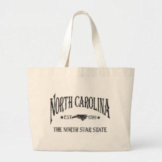 Carolina del Norte - el estado de la estrella del  Bolsa De Tela Grande