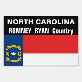 CAROLINA DEL NORTE es muestra del país de Romney R