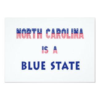 Carolina del Norte es un estado azul Anuncio
