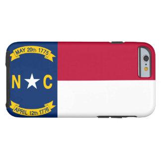 Carolina del Norte Funda De iPhone 6 Tough