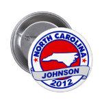 Carolina del Norte Gary Johnson Pin