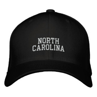Carolina del Norte Gorra Bordada
