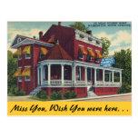Carolina del Norte, hogar turístico de De Mille, Tarjeta Postal