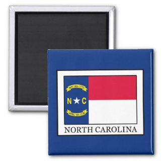 Carolina del Norte Imán Cuadrado