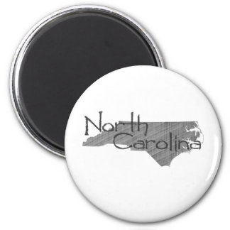 Carolina del Norte Imán Redondo 5 Cm