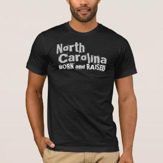 Carolina del Norte LLEVADA y AUMENTADA Playera