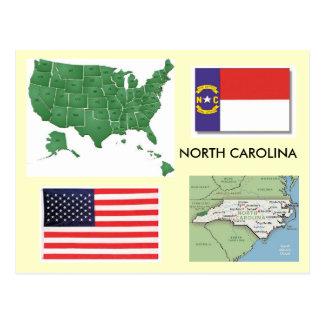 Carolina del Norte, los E.E.U.U. Postal