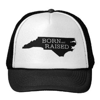 Carolina del Norte nacida y aumentada Gorras De Camionero