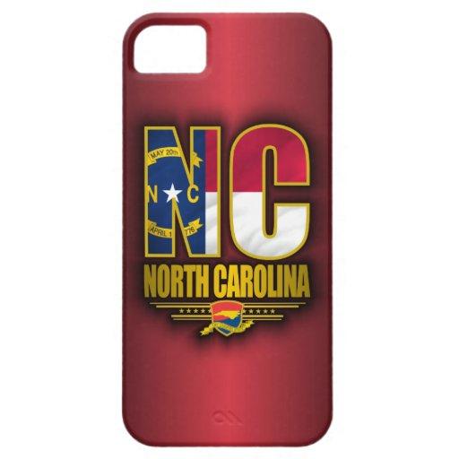 Carolina del Norte (NC) iPhone 5 Fundas