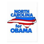 Carolina del Norte para Obama 2012 Postales