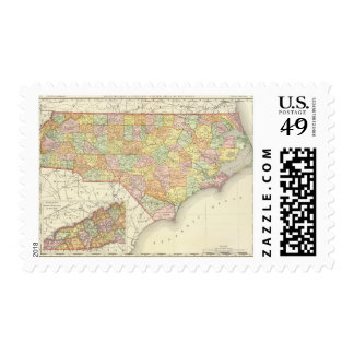 Carolina del Norte Sellos Postales