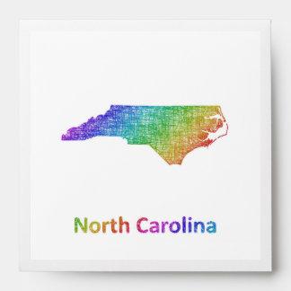 Carolina del Norte Sobres