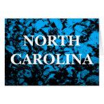 Carolina del Norte Tarjeta De Felicitación
