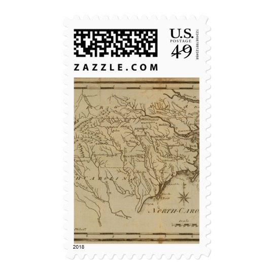 Carolina del Norte Timbre Postal
