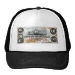 Carolina del Sur 1860 nota de diez dólares Gorras De Camionero