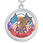 Carolina del Sur 2012 para Rick Perry Pendiente Personalizado