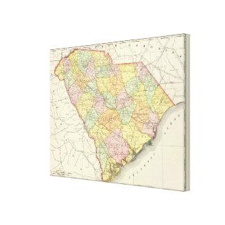 Carolina del Sur 4 Impresion De Lienzo