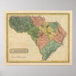 Carolina del Sur 8 Póster