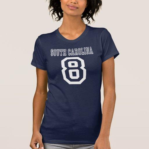 Carolina del Sur 8 Remeras