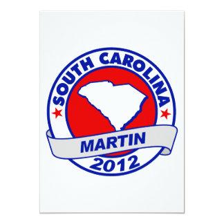 """Carolina del Sur Andy Martin Invitación 5"""" X 7"""""""