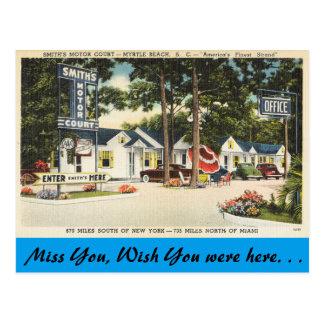 Carolina del Sur, corte del motor de Smith, Myrtle Postal