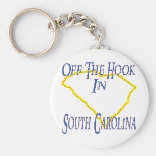 Carolina del Sur - del gancho Llaveros Personalizados