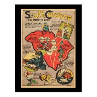 Carolina del Sur el estado del Palmetto Postal