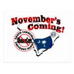 ¡Carolina del Sur el venir anti de ObamaCare - de  Tarjeta Postal
