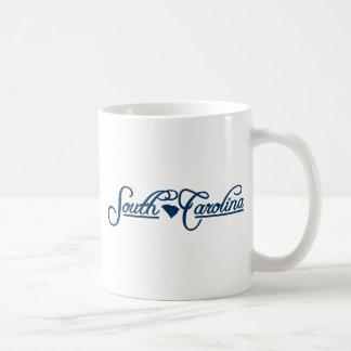 Carolina del Sur (estado el mío) Tazas De Café
