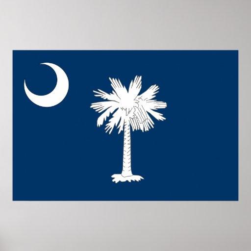 Carolina del Sur, Estados Unidos señala por medio  Póster