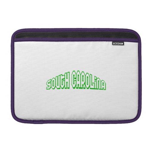Carolina del Sur Funda MacBook
