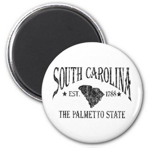 Carolina del Sur Imanes De Nevera