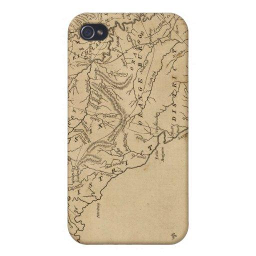 Carolina del Sur iPhone 4/4S Carcasas
