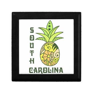 Carolina del Sur Joyero Cuadrado Pequeño