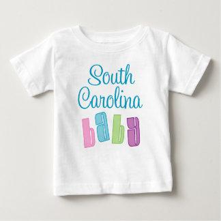 Carolina del Sur lindo embroma la camiseta