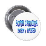 Carolina del Sur llevado y aumentado Pins