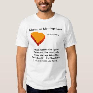 Carolina del Sur obscureció la ley de Marraigr Playeras
