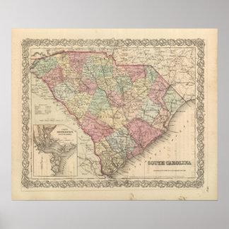 Carolina del Sur Póster