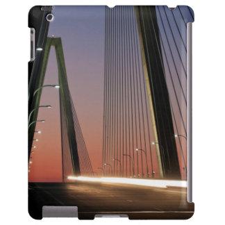 Carolina del Sur, puente del Jr. de Arturo Ravenel Funda Para iPad