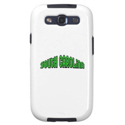 Carolina del Sur Samsung Galaxy S3 Protectores