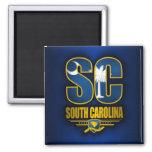 Carolina del Sur (SC) Imán Cuadrado